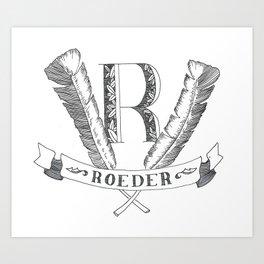 ROEDER Art Print