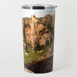 Cathedral Park, Garden of the Gods, Colorado Springs, Colorado, 1901 Travel Mug