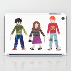 Harry, Hermione, and Ron iPad Case