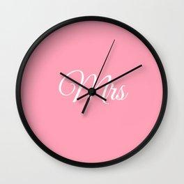 Mrs Wall Clock