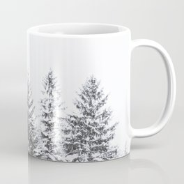 BLACK WINTER TREES Coffee Mug