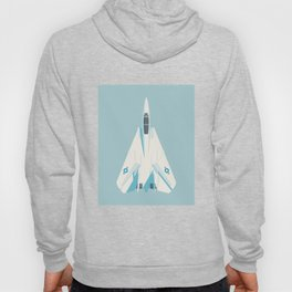 F14 Tomcat Fighter Jet Aircraft - Sky Hoody