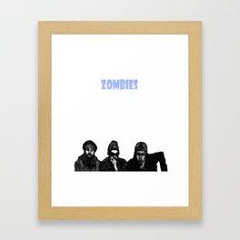 Yeah Zombie Zombie Zombie  Framed Art Print