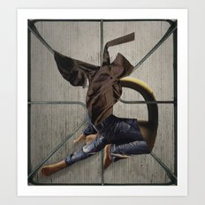 you can barrow my jeans but you have to wash them after Art Print