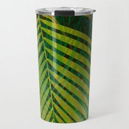 TROPICAL GREENERY LEAVES no2 Travel Mug