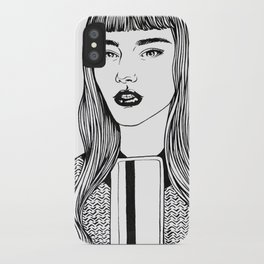 Inktober 09_2016 iPhone Case