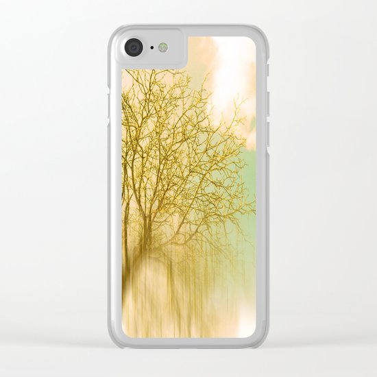 Impermanence Clear iPhone Case