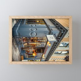 Penny Farthing Shop Framed Mini Art Print