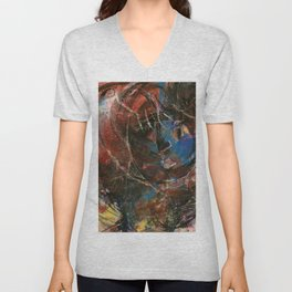 Woman Of Substance by Kathy Morton Stanion Unisex V-Neck