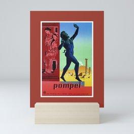 Pompei Pompeii Italian travel Mini Art Print