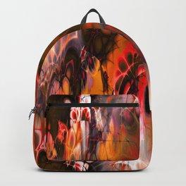 Marshmellow Skies (warm earth tones) Backpack