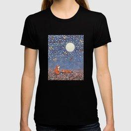 moonlit foxes T-shirt