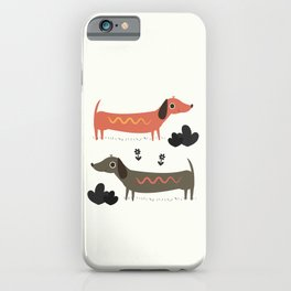 Wiener Dogs iPhone Case