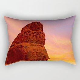 Balanced Rock Sunrise - Valley of Fire Rectangular Pillow