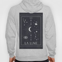 The Moon or La Lune Tarot Hoody