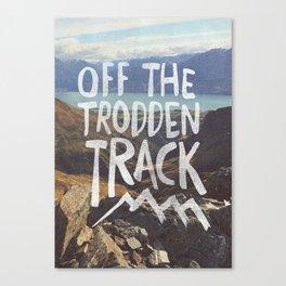 Trodden Track Canvas Print
