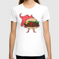 heroes T-shirts featuring Hamburger Heroes by Chris Piascik