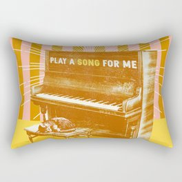 PLAY A SONG FOR ME Rectangular Pillow