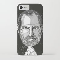 steve jobs iPhone & iPod Cases featuring Steve Jobs by 1and9