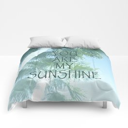 You Are My Sunshine Comforters