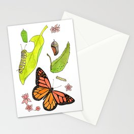 Monarch Life Cycle Stationery Cards