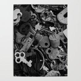 Black and White Keys Poster
