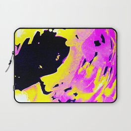 If Girls had their way with waves, Pink Minimal Water Laptop Sleeve