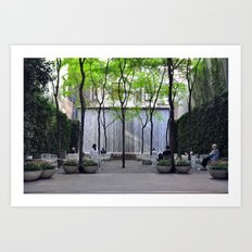 A Public Space Art Print