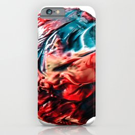 Abstract Planet v1 iPhone Case