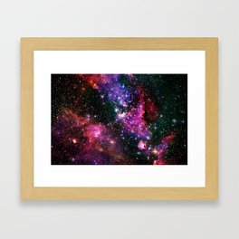 Outer Space Two Framed Art Print