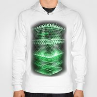 matrix Hoodies featuring Matrix tower by Azimut