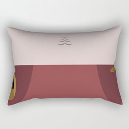 Kira Nerys - Minimalist Star Trek DS9 Deep Space Nine - Major  - startrek - Trektangles Rectangular Pillow