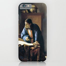 Johannes Vermeer The Geographer iPhone Case