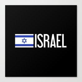 Israel: Israeli Flag & Israel Canvas Print