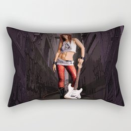 Mush - Grunge Rocker Rectangular Pillow
