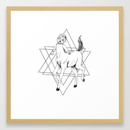Centaur Baby Framed Art Print