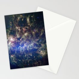 Large Magellanic Cloud, infrared 2 Stationery Cards