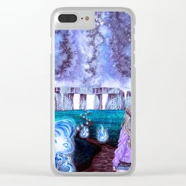 To the Unknown Clear iPhone Case