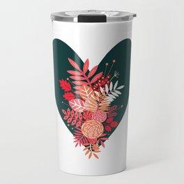 Feelings (Green) Travel Mug