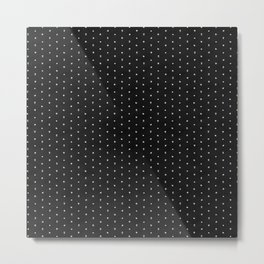 Cinema Pattern | Black and White Metal Print
