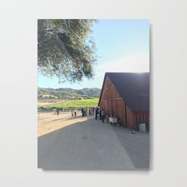 Magic Hour at Vintage Ranch Metal Print
