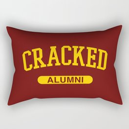 Cracked Alumni Rectangular Pillow