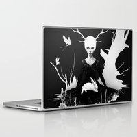 ireland Laptop & iPad Skins featuring Space Within by Ruben Ireland