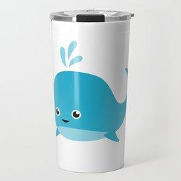 Cute Baby Whale Travel Mug