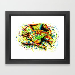You're Protected Framed Art Print