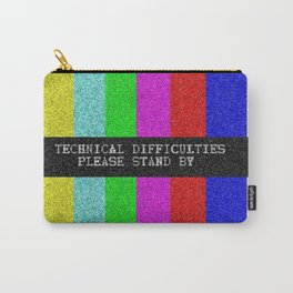 Technical Difficulties Carry-All Pouch
