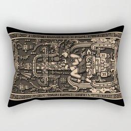 Sala Tumba de Pakal Rectangular Pillow