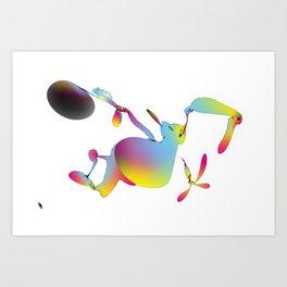 toonless 22-06-12 Art Print