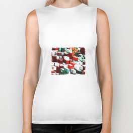 Mint Red Shipping Containers  Biker Tank