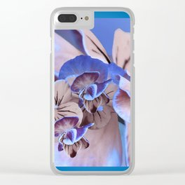 Greeting Card Flower75e Clear iPhone Case